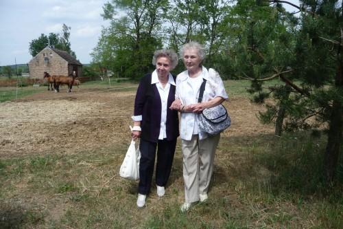 Helga Marsch (rechts) mit ihrer Schwester Ruth
